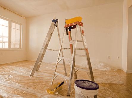 Помещения для установки потолка